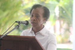 Environmental health officer at the Randal Phillips Polyclinic Deborah Nurse-Batson