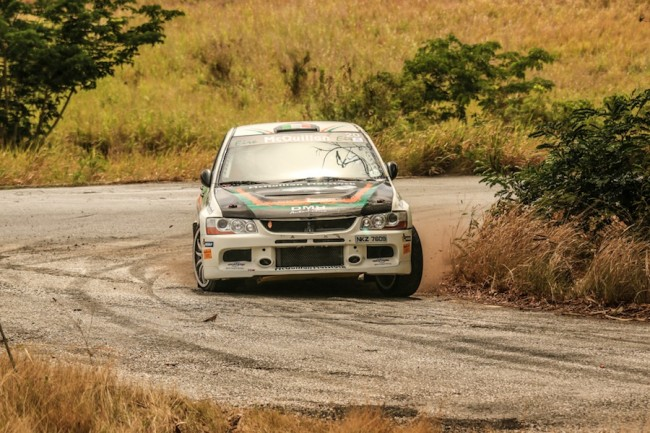 Joe McQuillan in action during Sol Rally Barbados 2015. (Picture by Nicholas Bhajan Photography)