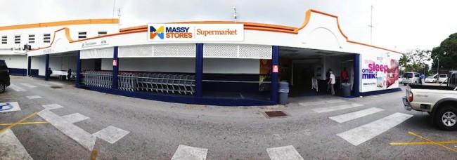 Massy Stores supermarket at Sargeant's Village, Christ Church