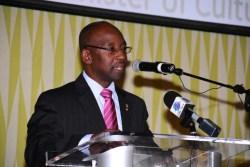 Minister of Sports Stephen Lashley.