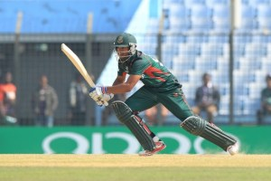 Nazmul Hossain Shanto struck a match-winning fifty for Bangladesh Under-19s.