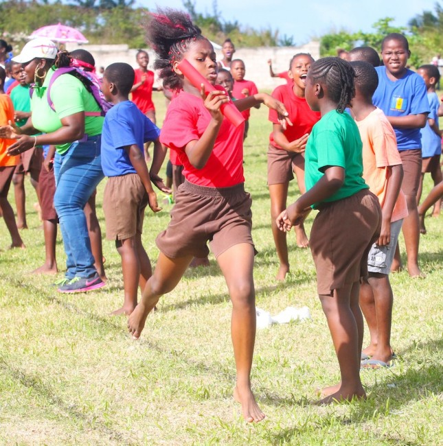 Red House ended the day with a bang when they won the under-13 girls 4x100m relay.