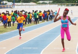 Victrix ludorum Ka'ya Kellman- Wall of Red House was in a class of her own by winning all of her events. (Pictures by Morissa Lindsay)