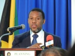 CDEMA's Executive Director Ronald Jackson