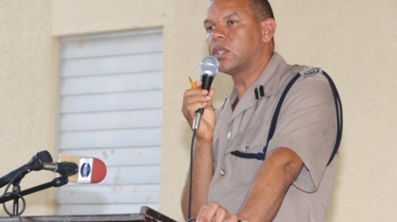 Jamaica's Deputy Commissioner of Police Clifford Blake