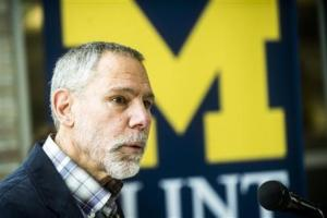 University of Michigan-Flint professor Marty Kaufman