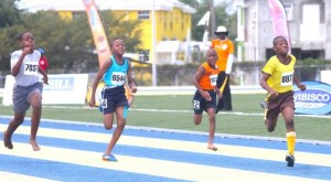 Victor ludorum Jaquan Pilgrim of St George Primary stamped his authority to win the under-11 boys 200m.