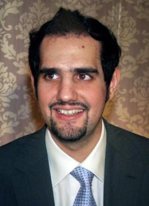 Shahbaz Taseer poses for a photograph during a family function in Lahore in this August 8, 2009 file photo.