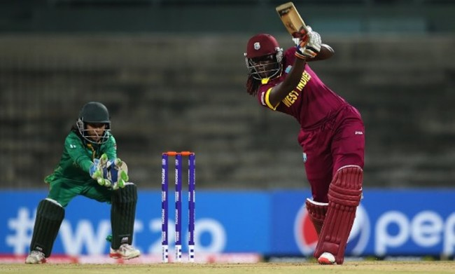 Stafanie Taylor top-scored with 40 for the Windies Women.