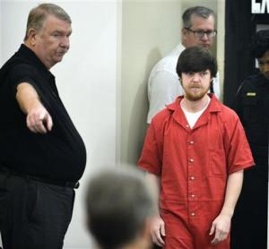Ethan Couch is brought into court for a hearing at Tim Curry Justice Center in Fort Worth, Texas on Wednesday.