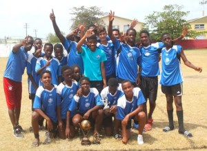 Pro-Shottas are the new champions of the Barbados Cup Under-15 competition.