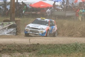 Roger Hill returns to action in his Toyota Corolla WRC on Sunday. (Picture by Nicholas Bhajan Photography)