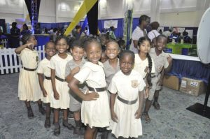 These tiny tots from the Hilltop Preparatory School were excited to be at BMEX.