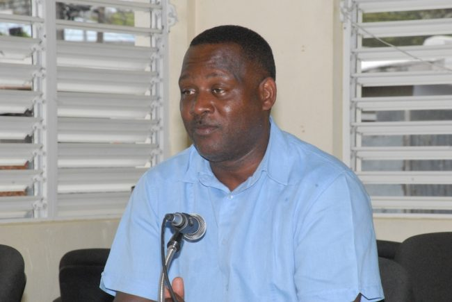 Minister of Commerce  and Industry Donville Inniss