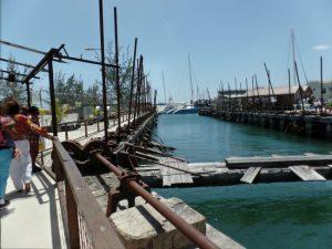 Blackwoods Screw Dock in Bridgetown.