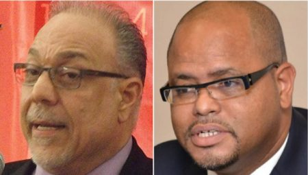 BCCI President Eddie Abed & BPSA President Alex McDonald