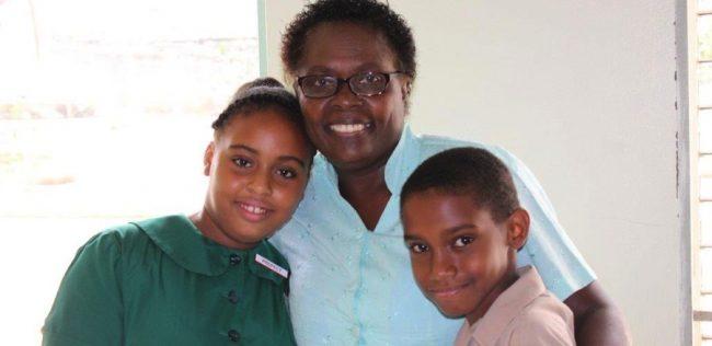 Principal Angela Bushell Skeete.