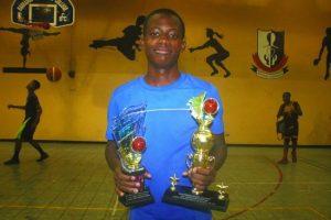 Season Most Valuable Player Deroni Hurley of St Leonard's