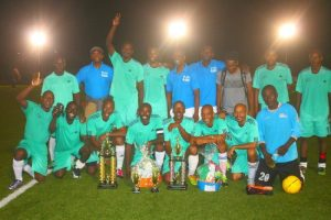 Wildey are the champions of the Barbados Football Association's Masters Football Tournament.