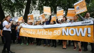 Brexit campaigners have called for Theresa May to invoke Article 50 immediately.