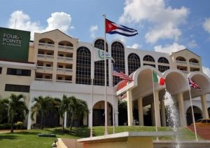 First US managed hotel starts operations in Cuba.