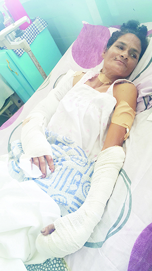 Hospitalized: Jennifer Monplaisir