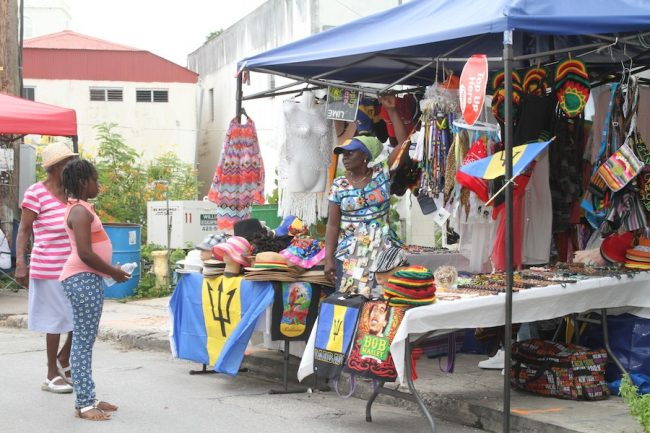 Vendors used the Speightstown Market and Pan Around De Town to showcase their products.