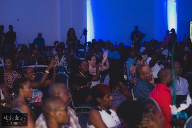 The audience at Mahalia's Corner.