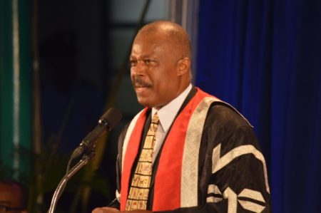 Vice Chancellor Sir Hilary Beckles