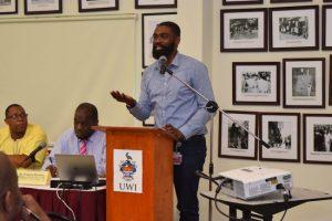 President of the Barbados Economic Society Jeremy Stephen