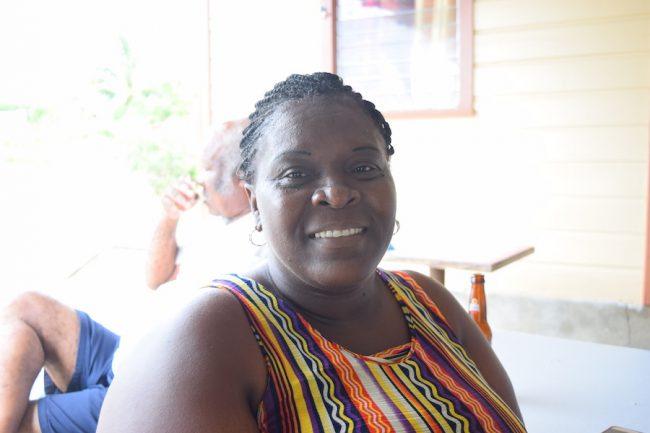 Melanie King, a shopkeeper  in Eastland, St George.