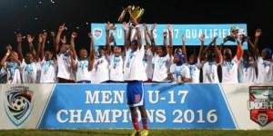Haitians celebrate. (Picture compliments Sportsmax)