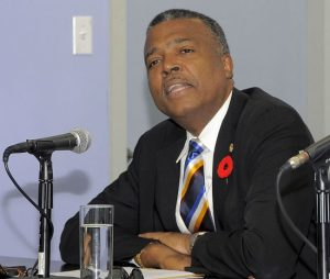West Indies Cricket Board's chief executive officer Michael Muirhead.