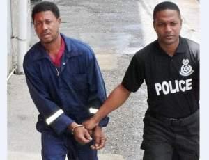Patrick Joseph (left) was remanded.