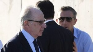 Rodrigo Rato (left) could face prison and a hefty fine  if found guilty.