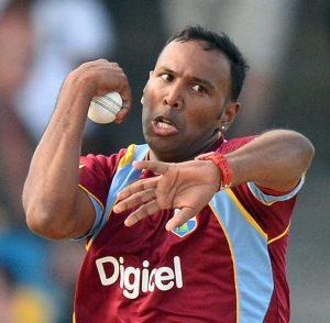 Samuel Badree claimed three wickets.