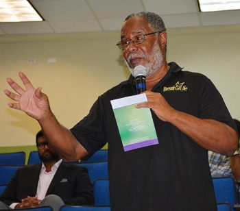 Retired UWI Vice-Principal, Professor Pedro Welch, was concerned about the public opinion on research findings.