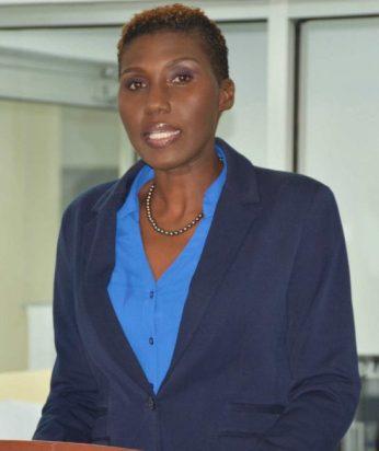 UNFPA Barbados Liaison Officer De-Jane Gibbons