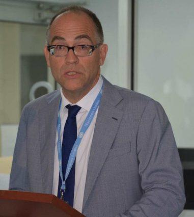 UN Resident Coordinator Stephen O'Malley