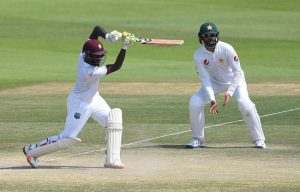 Jermaine Blackwood provided most of West Indies' fight on  another day of  batting disappointment.
