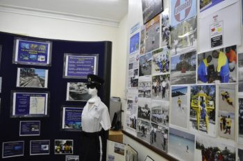 The exhibition chronicles the transition of the NCC through the years.