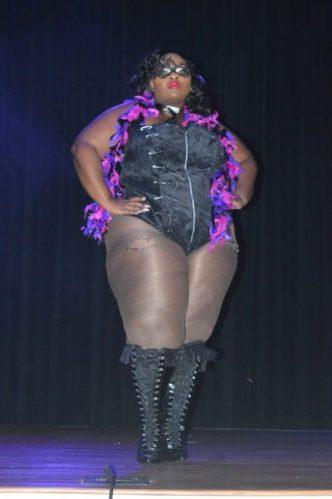 1st runner up Monique Deane in lingerie.