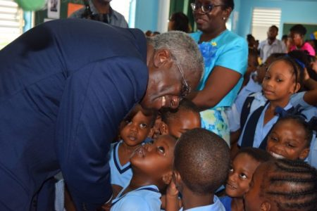 Students could barely contain their excitement as they got opportunity to meet the Prime Minister.