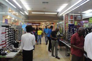 Officials of Thani's Shoe Shop at the Sheraton Mall said sales during the Black Friday sale event was excellent.