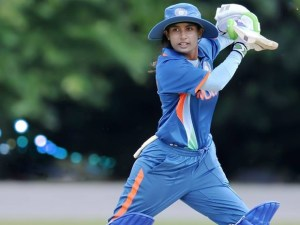 Indian captain Mithali Raj  made an unbeaten 46 to steer  her side to a win in  partnership with Veda Krishnamurthy.