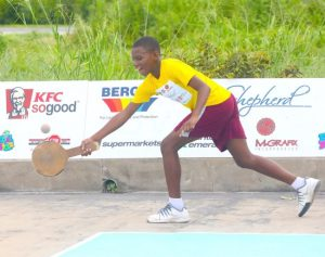 N'tari Haynes of Wesley Hall won his game against Raziel Lopey of Belmont Primary to ensure his team secured a place in the quarter-final.
