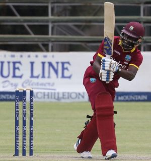 Jonathan Carter top-scored for the West Indies.