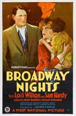Broadway Nights (1927) Film Poster
