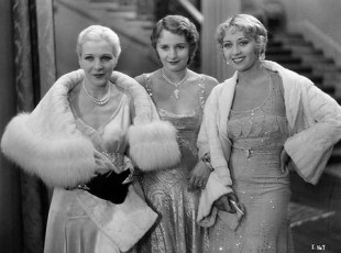 With Natalie Moorehead and Joan Blondell
