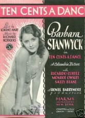 Ten Cents a Dance Sheet Music